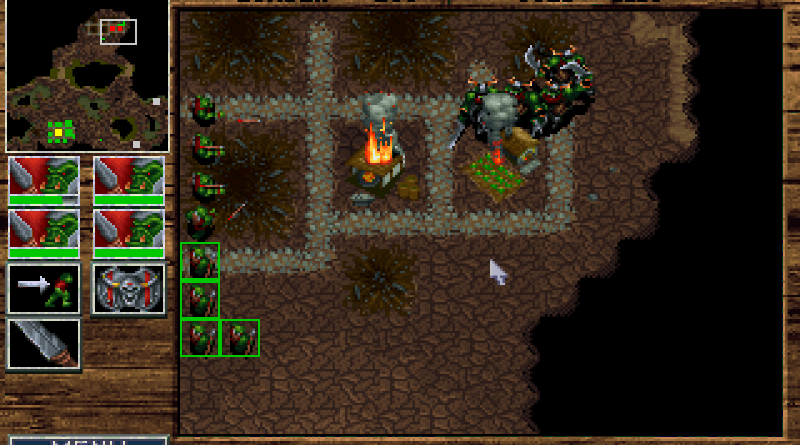 워크래프트1 Warcraft1 MS-DOS